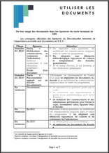 utiliszer les documents